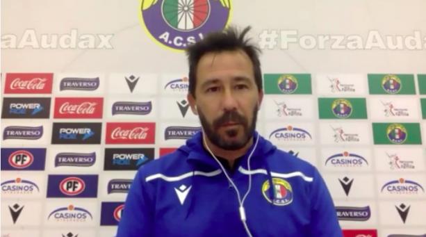 DT Pablo Sánchez habla del debut de Audax Italiano en el Campeonato PlanVital 2021