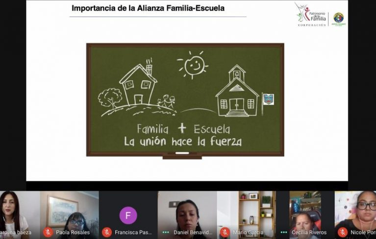 CONVIRTIENDO LAS ADVERSIDADES EN OPORTUNIDADES: PATRIMONIO DE LA FAMILIA CAPACITA A LOS APODERADOS DEL COLEGIO CRISOL