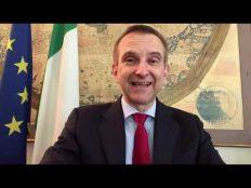Mauro Battocchi, Embajador de Italia en Chile. Nos envió un saludo por nuestros 110 años de historia.